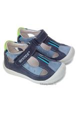 Sandalete piele Hokide Albastru