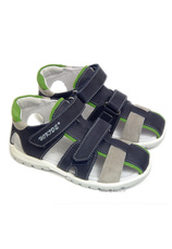 Sandale piele Hokide Bleumarin
