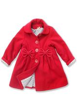 Exclusive® Palton vatuit Kelly Rosu 70491