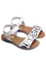 PJ® Sandale piele Ana Alb