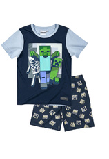 Minecraft® Pijama vara Bleumarin