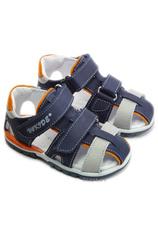 Hokide® Sandale piele  Bleumarin
