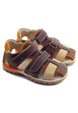 Hokide® Sandale piele Maro 357012